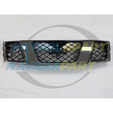 Nissan Navara D40 Pathfinder R51 VSK ST-X Chrome Grille 2005-2010