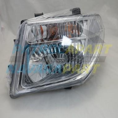 Nissan Navara D40M Pathfinder R51 VSK LH Left Headlight 2005-07