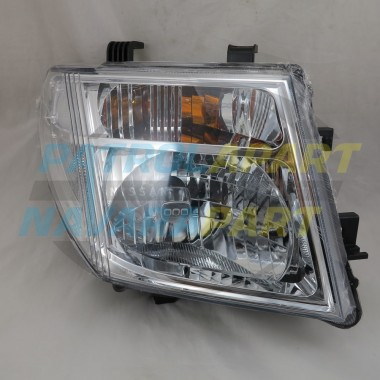 Nissan Navara D40M Pathfinder R51 VSK RH Right Headlight 05-07