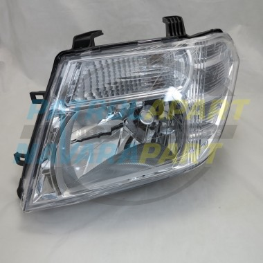 LH Left Headlight suit Nissan Navara D40M Pathfinder R51 VSK 2010on