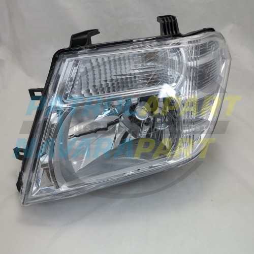 LH Left Headlight suit Nissan Navara D40M Pathfinder R51 VSK 2010on
