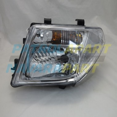 Nissan Navara Ute D40T Thai MNT LH Left Headlight Lamp 2008-15