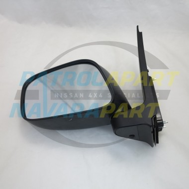 Nissan Navara D40 VSK MNT 2WD Left Hand Manual Mirror 2008-2015