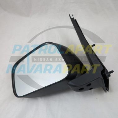 Nissan Navara D40 VSK 4WD Left Hand Manual Black Mirror 2005-10