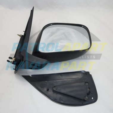 Nissan Navara D40 VSK 4WD Right Hand Manual Black Mirror 2005-10