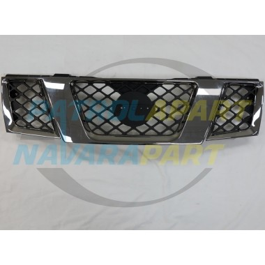Nissan Navara D40 Thai YD25 Dual / King Cab Chrome Grille