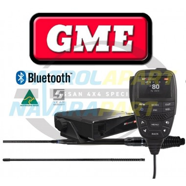 GME 330CTP XRS Connect UHF CB Radio with Bluetooth Touring Pack