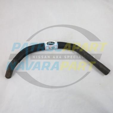 Nissan Navara D22 ZD30 4x4 Gates Heater Inlet Rubber Hose