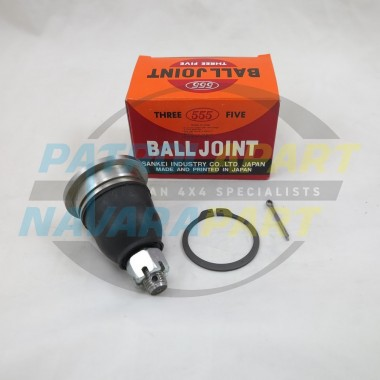 Nissan Navara D22 Upper Ball Joint LH RH Made in Japan 555 1997-2015