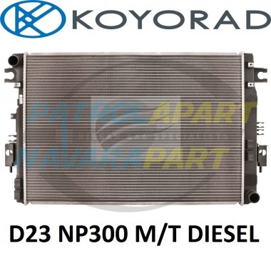 KOYO Radiator for Nissan Navara D23 NP300 M9T Manual Diesel 2.3L